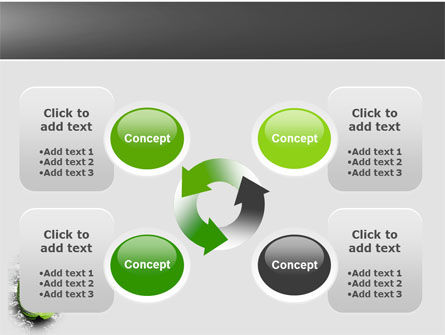 Green Idea PowerPoint Template Slide 9