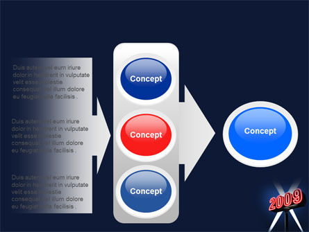 2009 Premiere PowerPoint Template Slide 11