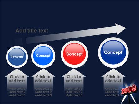 2009 Premiere PowerPoint Template Slide 13
