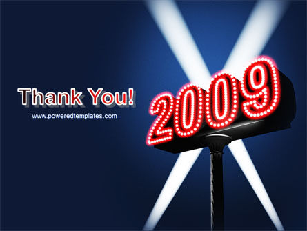 2009 Premiere PowerPoint Template Slide 20