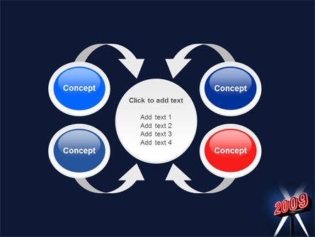 2009 Premiere PowerPoint Template Slide 6