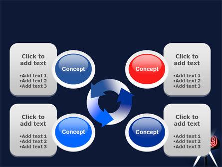 2009 Premiere PowerPoint Template Slide 9