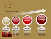 Christmas Love Free PowerPoint Template#13