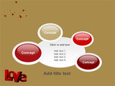 Christmas Love Free PowerPoint Template#16