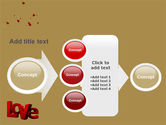 Christmas Love Free PowerPoint Template#17