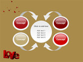 Christmas Love Free PowerPoint Template#6
