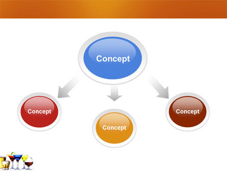 Strong Drinks PowerPoint Template, Slide 4, 04199, Food & Beverage — PoweredTemplate.com