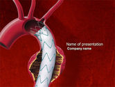 Medical: Aortic Aneurysm PowerPoint Template #04202