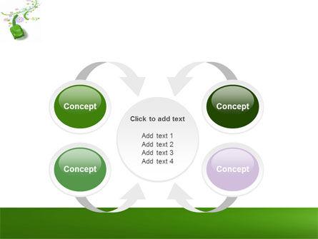 Green Car PowerPoint Template Slide 6