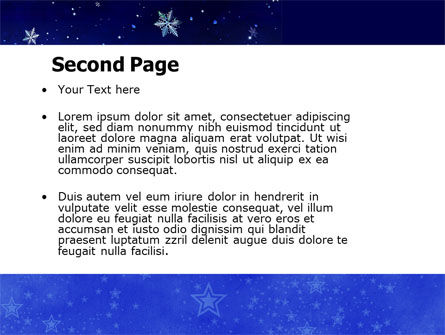 Happy Christmas Theme Free PowerPoint Template Slide 2