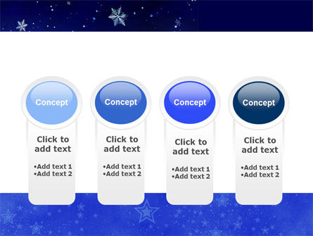 Free Happy Christmas Theme PowerPoint Template Slide 5