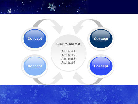 Free Happy Christmas Theme PowerPoint Template Slide 6