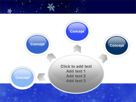 Free Happy Christmas Theme PowerPoint Template Slide 7