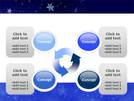 Free Happy Christmas Theme PowerPoint Template Slide 9