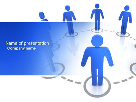 Consulting: Organization Structure PowerPoint Template #04207