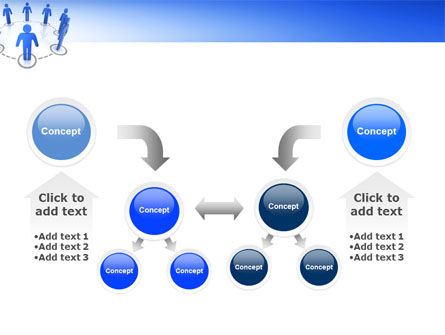 Organization Structure PowerPoint Template Slide 19