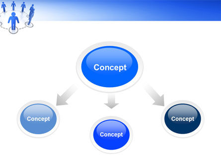 Organization Structure PowerPoint Template Slide 4