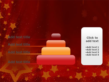 Christmas Decorations And Candles PowerPoint Template Slide 8