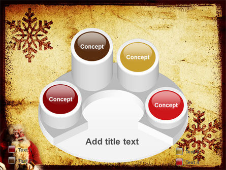 Santa Claus Free PowerPoint Template Slide 12