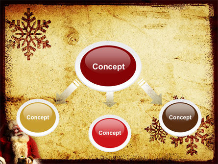 Santa Claus Free PowerPoint Template Slide 4