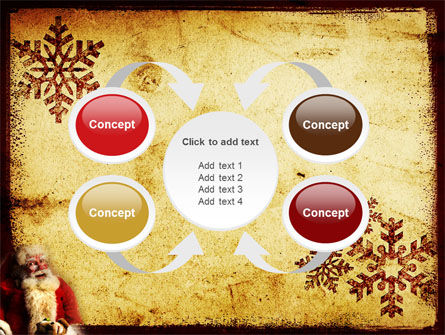 Santa Claus Free PowerPoint Template Slide 6