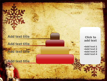 Santa Claus Free PowerPoint Template Slide 8