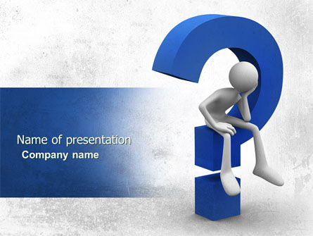 Unsolved Issue PowerPoint Template