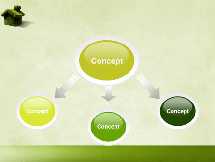 Green House PowerPoint Template Slide 4