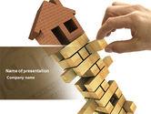 Consulting: Modèle PowerPoint de bâtiment #04217