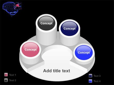 Brain Receptor PowerPoint Template Slide 12