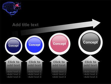 Brain Receptor PowerPoint Template Slide 13