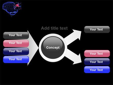 Brain Receptor PowerPoint Template Slide 14