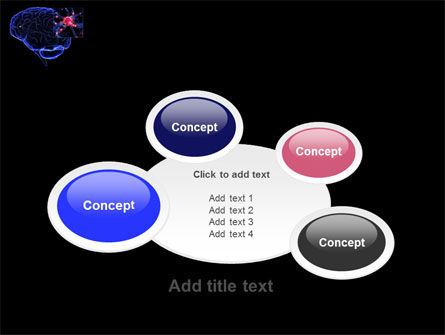 Brain Receptor PowerPoint Template Slide 16
