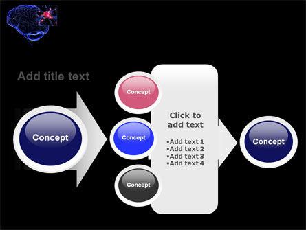 Brain Receptor PowerPoint Template Slide 17