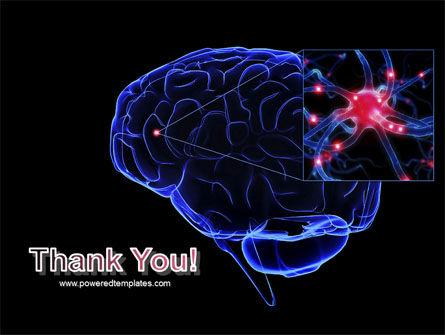 Brain Receptor PowerPoint Template Slide 20