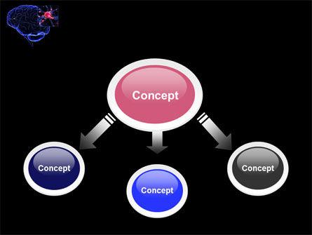 Brain Receptor PowerPoint Template, Slide 4, 04218, Medical — PoweredTemplate.com