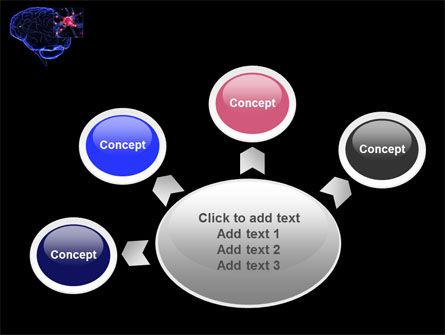 Brain Receptor PowerPoint Template Slide 7