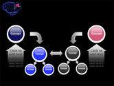 Brain Receptor PowerPoint Template#19