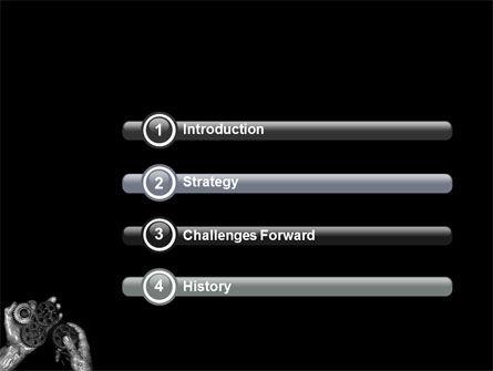 Mechanic Gears PowerPoint Template, Slide 3, 04219, Utilities/Industrial — PoweredTemplate.com