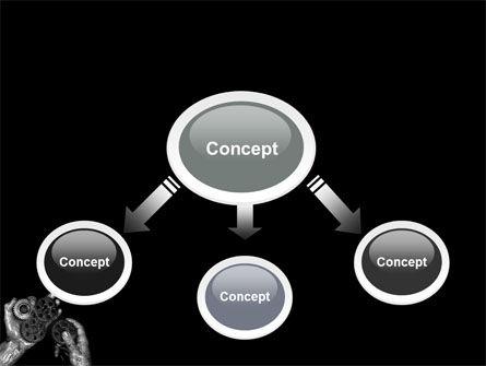 Mechanic Gears PowerPoint Template, Slide 4, 04219, Utilities/Industrial — PoweredTemplate.com