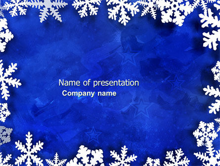 Holiday/Special Occasion: Winter Theme PowerPoint Template #04220