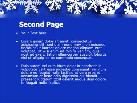 Winter Theme PowerPoint Template Slide 2