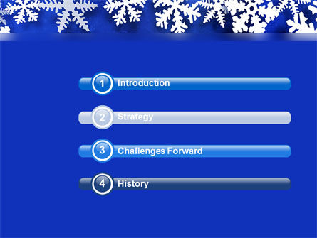 Winter Theme PowerPoint Template Slide 3