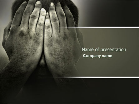 Sorrow PowerPoint Template