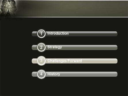 Sorrow PowerPoint Template, Slide 3, 04222, People — PoweredTemplate.com