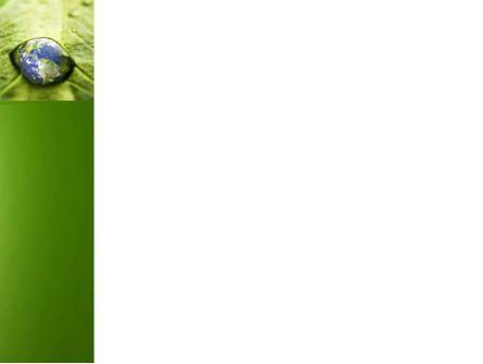 Water Drop PowerPoint Template, Slide 3, 04223, Nature & Environment — PoweredTemplate.com