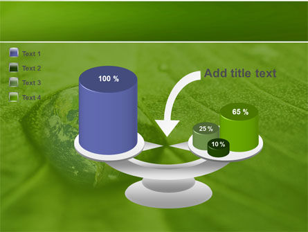 Water Drop PowerPoint Template Slide 10
