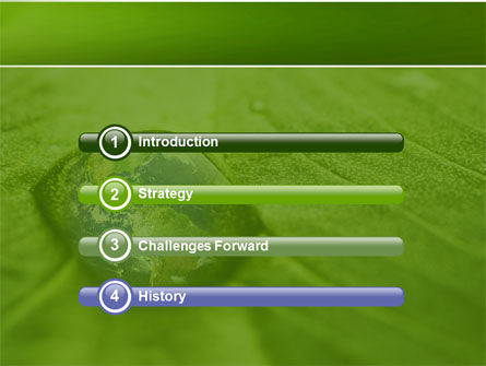 Water Drop PowerPoint Template Slide 3