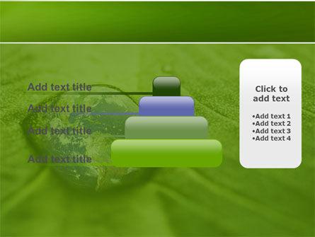Water Drop PowerPoint Template Slide 8
