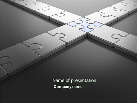 Junction PowerPoint Template, 04224, Business Concepts — PoweredTemplate.com